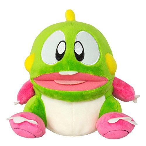 """Bubble Bobble GAYA-GE3291 22 cm """"Bubble Dragon Bob"""" Plush Toy with Sound Effects"""