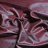 Stoff Polyester Kleidertaft blau lila changierend Taft