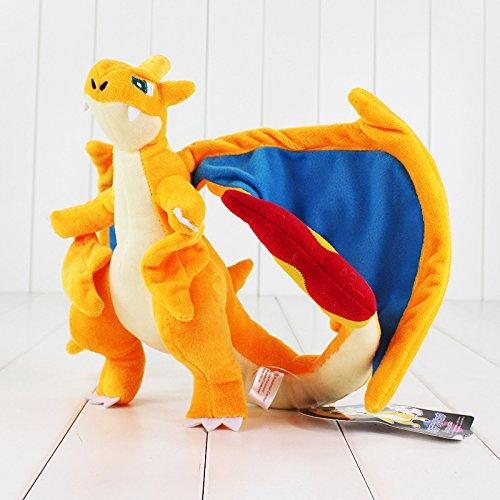 Zantec Klassische Pokemon gefüllte Puppen Pocket Monster Spielzeug Plüsch Charizard Geburtstagsgeschenk Kinder Jugend (Plüsch Monster Puppen)