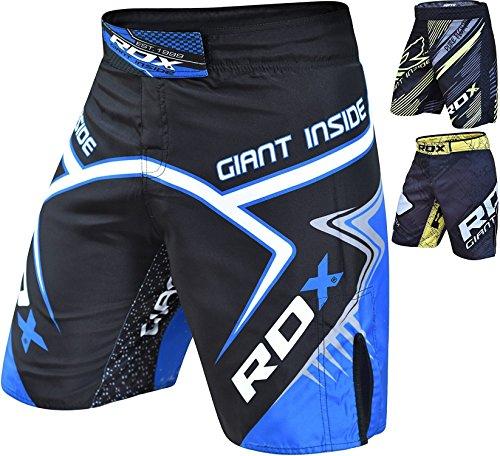 RDX MMA Pantalones Boxeo UFC Corto Entrenamiento Muay