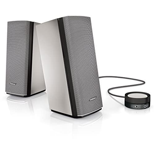 519p0XzlOKL. SS500  - Bose Companion 20 Multimedia Speaker System for Computers, Tablets and Audio Devices - Grey