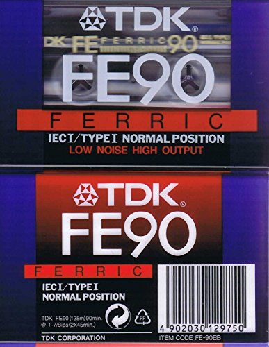 tdk-fe90-audio-cassette-low-noise