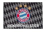 FC Bayern München Fahne/Hissfahne * Rekordmeister * 150 x 100 cm (2 Ösen)