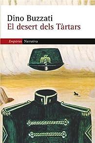 El desert dels Tàrtars par Dino Buzzati