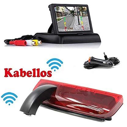 HSRpro-RFK-141-Kabellose-Funk-Rckfahrkamera-Kompatibilitts-Ford-Transit-Connect-um-Ihr-Transporter-Wohnwagen-Wohnmobile-Bremslicht-zum-nachrusten-inkl-Monitor