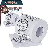 Benross Global Gizmos 50160 - Confezione regalo di carta igienica con barzellette