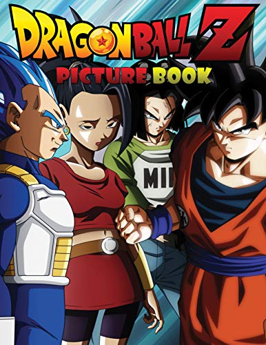 Dragon Ball Z: Jumbo DBS Picture Book: Over 100 High Quality Colored Pages (Volume 1) (DBZ Picture Books) (English Edition)