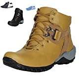 Arr Fashions Men's Tan Trekking and Hiking Boots - 10 UK