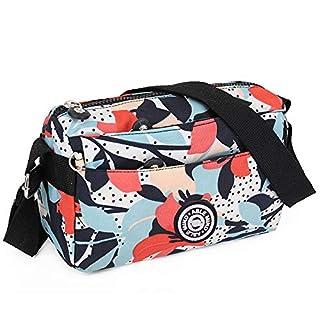 ABLE Women Anti Splash Shoulder Messenger bag Crossbody Bags … (3-Calla lily flower)