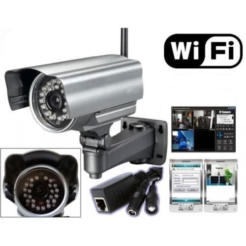IP Camera Telecamera Wireless...