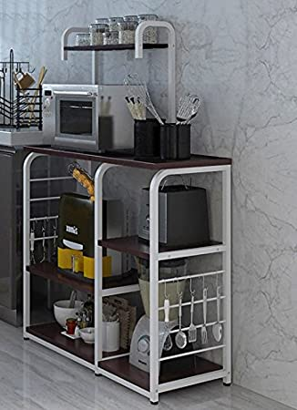 Awesome Kitchen Racks  Racks Shelves Kitchen Shelves 3 Layer Microwave Oven Rack  Creative Multi Frame Multifunctional Storage Rack Storage Rack Floor Stand  ...