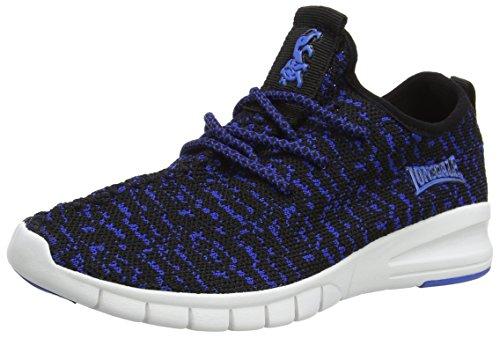 Lonsdale Carlos, Chaussures De Running Compétition Garçon Blue (Blue/Black)