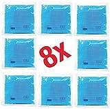 Die besten NEU Kühlkissen - 8x Kompresse Kalt Warm 15 x 15 cm Bewertungen