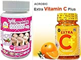 #4: 1 Bottle Glutathione 1500000 MG 30 Caps With Acorbic Vitamin Extra C ++ With Rose Hips ( 2000 mg ) 30 Softgel