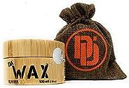 DA Dude Da Wax Starker Halt Haar Wax - Bestes Haarwachs matt - Haarwax Männer in einer einzigartigen Holzwanne