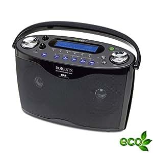 Roberts ecoLogic 7 DAB+ Digitalradio schwarz