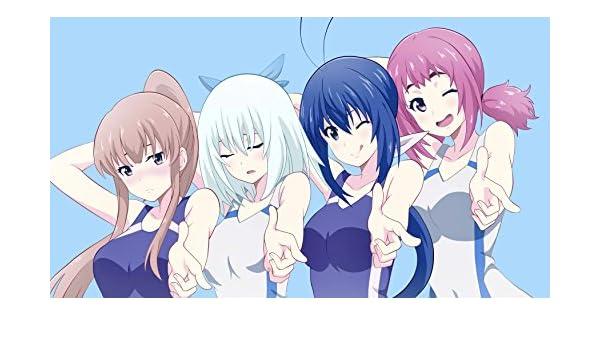 Athah Designs Anime Keijo Nozomi Kaminashi Sayaka Miyata Non Toyoguchi Kazane Aoba 13 19 Inches Wall Poster Matte Finish Amazon In Home Kitchen