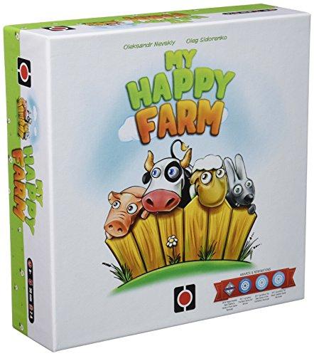 Wydawnictwo Portal POP00355 - Brettspiel 'My Happy Farm'