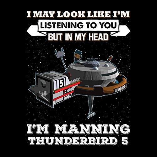 I May Look Like Thunderbird 5 Thunderbirds Women's Vest Black