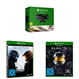 Xbox One Konsole (500GB) + Forza Horizon 2 + Halo 5: Guardians + Halo - The Master Chief Collection Standard Edition