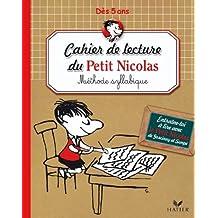 Cahier de lecture du Petit Nicolas - Méthode syllabique