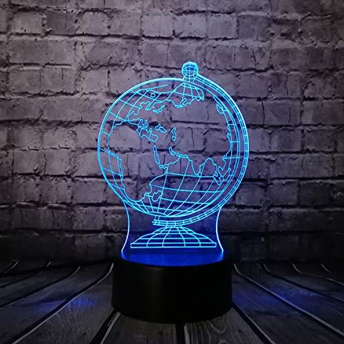 3D Illusion Lampe Nachtlicht optische Täuschung lampen 7 Farben Ice Blade Hockey Skate Shoes Lamp Multicolor Changing Night Light Sporting Boy Room r Kids Toys Gift