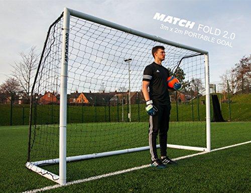 Quickplay Match Fold Cage De Foot Version 2 0 Cage De Foot En Pvc Pliable