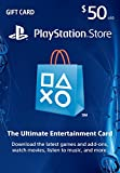 $50 PlayStation Store Gift Card (US PSN ...