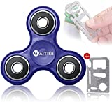 Waitiee Fidget Toy tipo Spinner para niños o adultos - Gira 1-3 minuto - Juego Sensorial Hand Spinner