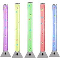 WICKED GIZMOS ® Stunning 90cm Colour Changing LED Mood Bubble Tower Lamp Fish Water Tube Floor Standing Lamp Light