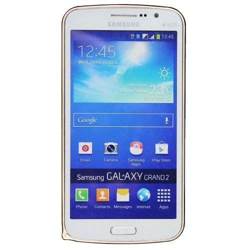Casotec Metal Aluminium Bumper Frame Case Cover for Samsung Galaxy Grand 2 - Golden  available at amazon for Rs.199
