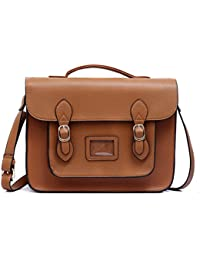 Amazon.co.uk: Brown - Satchels / Women's Handbags: Shoes & Bags
