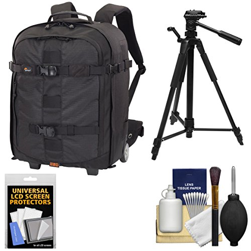 Lowepro Pro Runner RL x450 AW II DSLR Camera Backpack Case Black with Tripod Accessory Kit  available at amazon for Rs.45599