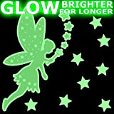 SPARKLE FAIRY Glow-in-the-Dark stickers - MEDIUM