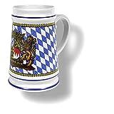 Bayerischer Burgherrenseidl Bierkrug 0,5l