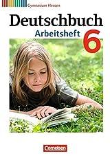 Deutschbuch Gymnasium - Hessen G8/G9: 6. Schuljahr - Arbeitsheft mit Lösungen