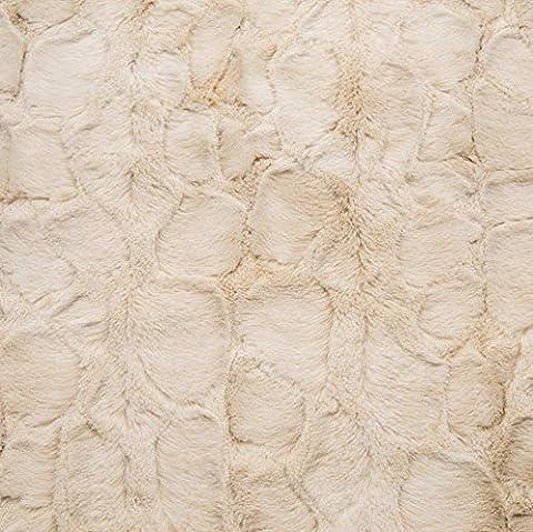 Shannon tissus en peluche doudou–Lapin doux Crème–M