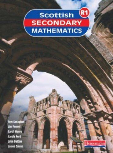 Scottish Secondary Maths Red 1 Student Book: S1-1r Student Book (Scottish Secondary Mathematics) by SSMG (2004) Paperback