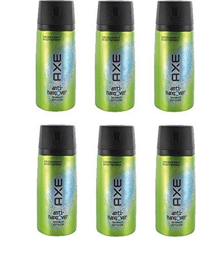 6* Axe Deospray Deo Bodyspray 150ml Anti Hangover 6*150ml