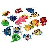 LaDicha Gefälschte Fisch Fish Tank Dekoration Kunststoff Künstliche Tropische Fische