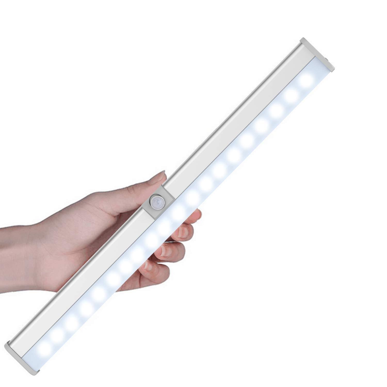 Schrankbeleuchtung mit Bewegungsmelder , Cynthia 27LEDs Kabellos USB ...