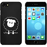 Negro 'Ovejas Lindas' Funda / Carcasa para iPhone 7 (MC00072305)