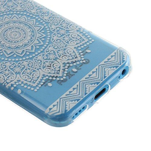 MOONCASE pour iPhone 5G / 5S Case Coque Silicone Gel TPU Housse Case Étui Cover X09 X08 #1207
