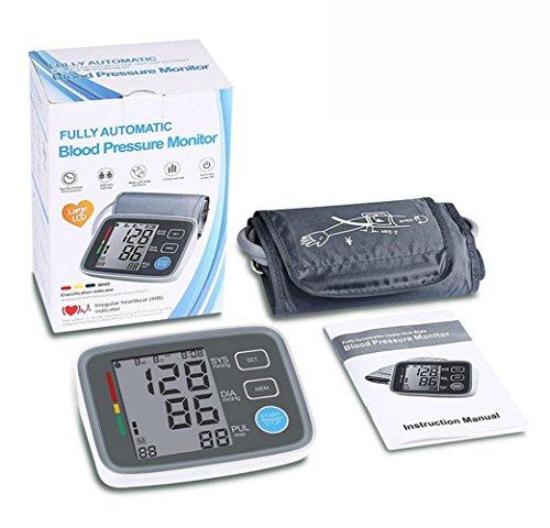 AIMS@ Intelligente Medicalmente Certificato Braccio superiore Braccio di tiro di spurgo Home Misurazione di pressione sanguigna Tempo di risposta vocale Frequenza cardiaca Grande pressione del sangue LCD Pulse Heart Rate Rivelatore di precisione