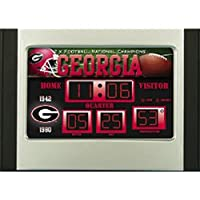 Georgia Bulldogs NG Scoreboard Desk Clock by Team Sports America