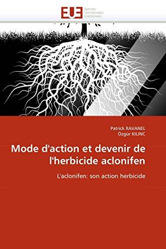 Mode d''action et devenir de l''herbicide aclonifen