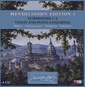 Mendelssohn Edition Vol.1 Orchestral Music