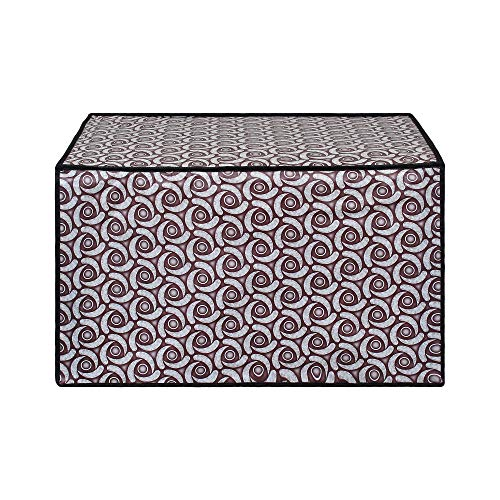 Glassiano Microwave Oven Cover for Samsung 20 Litre Solo Microwave Oven MW73AD-B/XTL Black