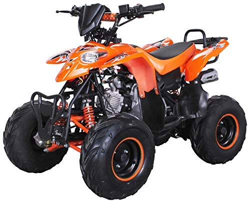 Kinder Quad S-5 Polaris Style 125 cc Motor Miniquad 125 ccm Razer (Orange)