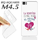 Case + Glass Screen Protector (Optional) BQ Aquaris M4.5 M